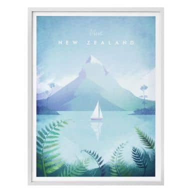 Poster Rivers - Neuseeland