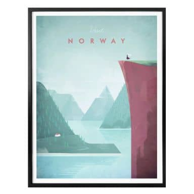 Poster Rivers - Norwegen