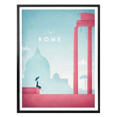 Poster Rivers - Roma