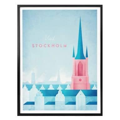 Poster Rivers - Stockholm
