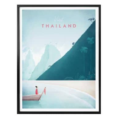 Poster Rivers - Thailand