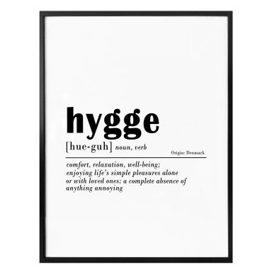 Poster Sisi & Seb - Hygge
