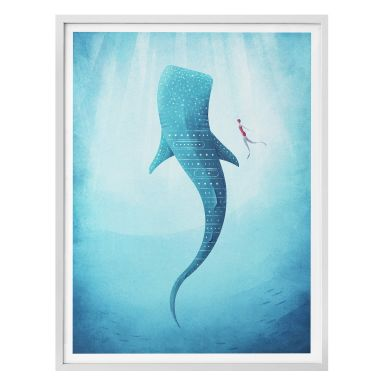 Poster Rivers - The Whale shark