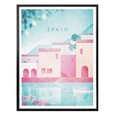 Poster Rivers - Spanien