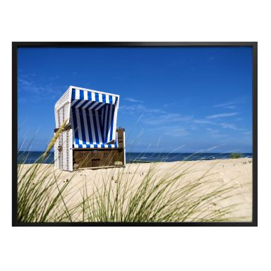 Poster - Corbeille de plage