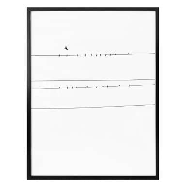 Poster Power Line