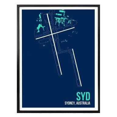 Poster 08Left - SYD Grundriss Sydney