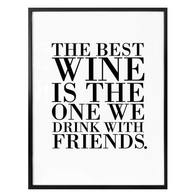 Poster - The best wine