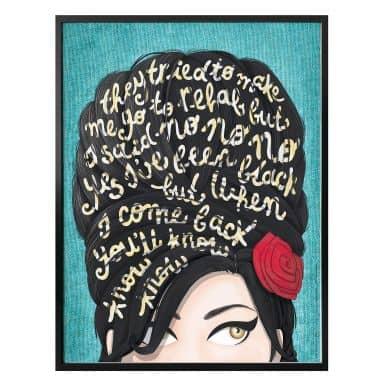 Affiche Tohmé  - Amy Winehouse: Rehab