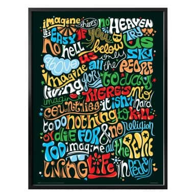 Poster Tohmé - Imagine