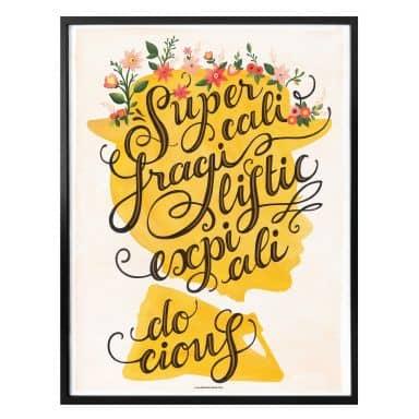 Affiche Tohmé - Mary Poppins