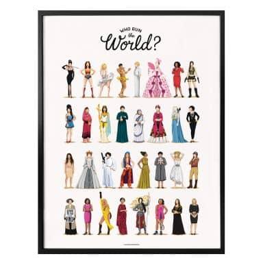 Affiche Tohmé - Who run the World