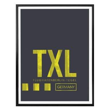 Poster 08Left - TXL Flughafen Berlin