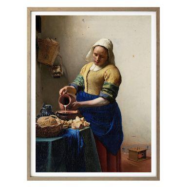 Poster Vermeer - The Milkmaid