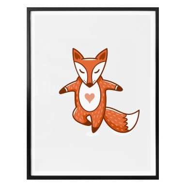 Poster - Yoga-Fuchs 09