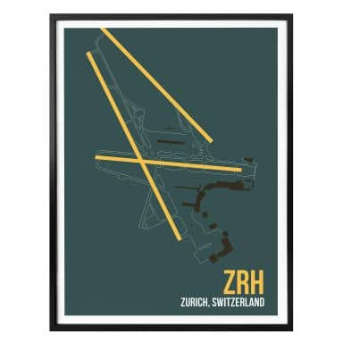 Poster 08Left - ZRH Zurich Floorplan