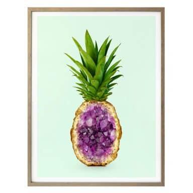 Poster Fuentes - Pineapple Quartz