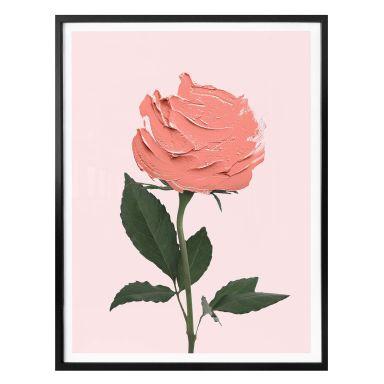 Poster Fuentes - Rosenmalerei