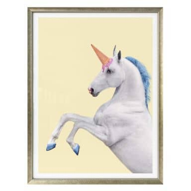 Poster Fuentes – Unicorn Icecream