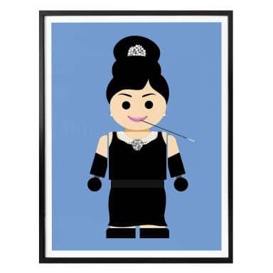 Poster Gomes - Audrey Hepburn Spielzeug