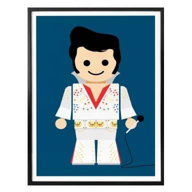 Poster Gomes - Elvis Spielzeug