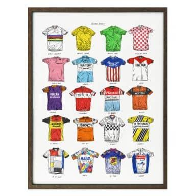 Poster Sparshott - Fahrradtrikots