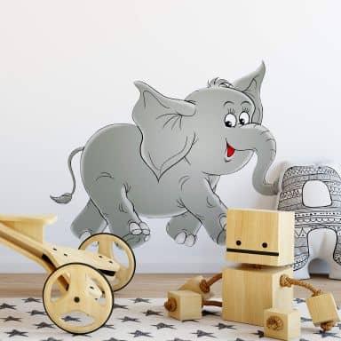 Wandtattoo Elefantenmännchen