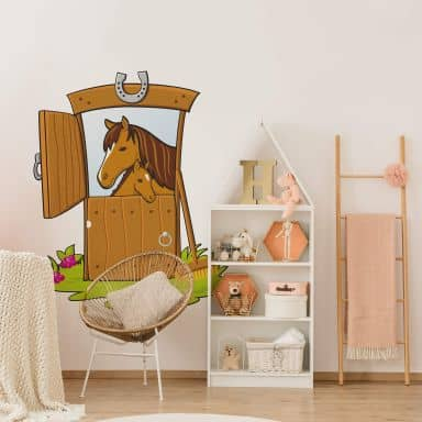 Stable Wall sticker