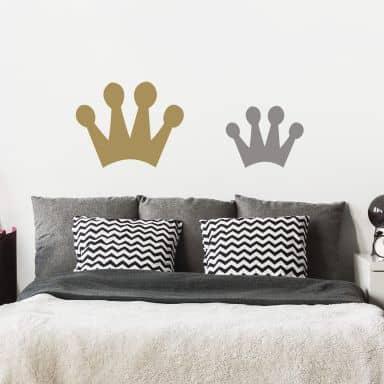Adesivo murale - Corona