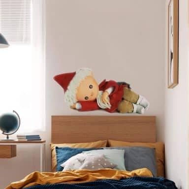 Wandtattoo Sandmann 3D schläft