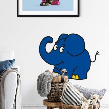Wandtattoo Elefant 03