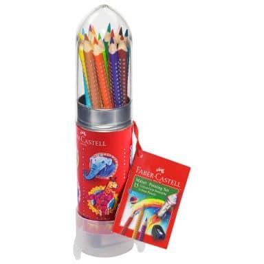 Colouring Pencil Rocket – 15 pencils