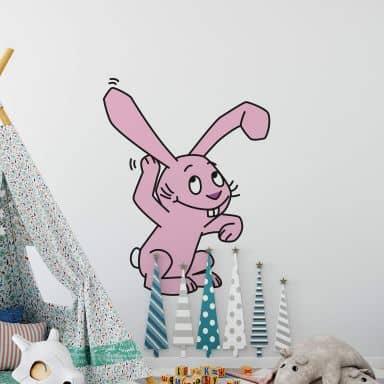 Pink Bunny 14 Wall sticker