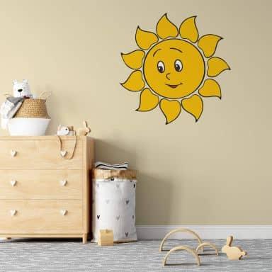Sticker mural - Soleil