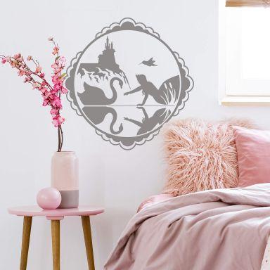 Fairytale Swan Wall sticker