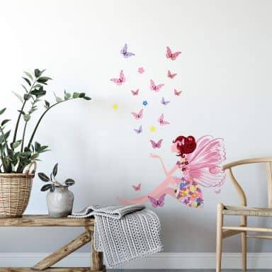 Wandtattoo Schmetterling & Wandtattoo Butterfly - Wandtattoo ...