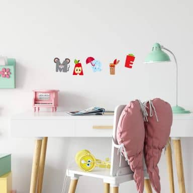 Kids Alphabet Wall sticker
