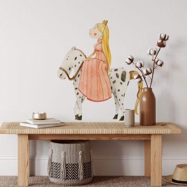 Sticker mural - Loske - Princesse