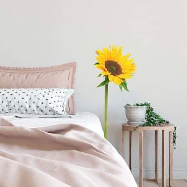 Wandtattoo Sonnenblume einzeln