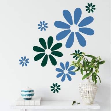 Sticker mural - Flower Power