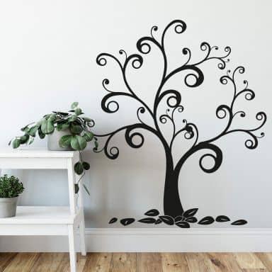 Wandtattoo Baum & Ranken   wall-art.de