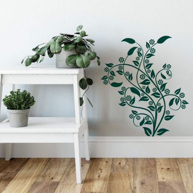 Sticker mural - Rêve Floral 2
