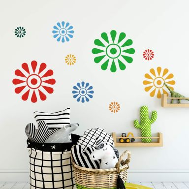 Sticker mural - Fleur Solaire