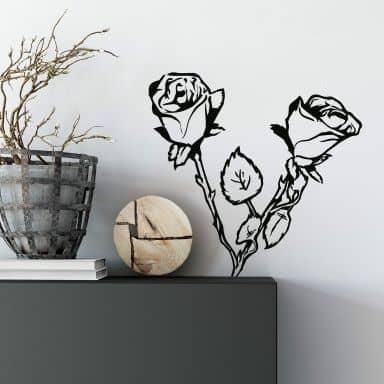 Rosebush Wall sticker