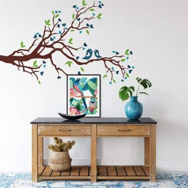 Loving Sparrows Wall sticker