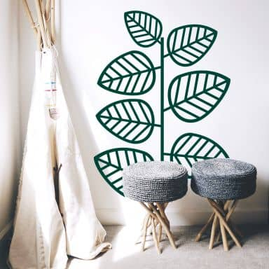 Sticker mural - Plante grimpante de la jungle