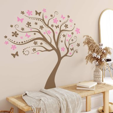 Muursticker Droomboom 2-kleurig