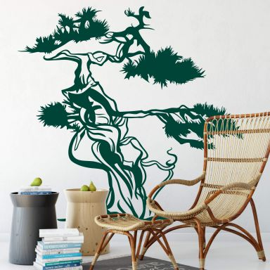 Asian Tree Wall sticker