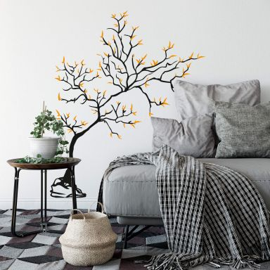 Young Tree 2-colours Wall sticker