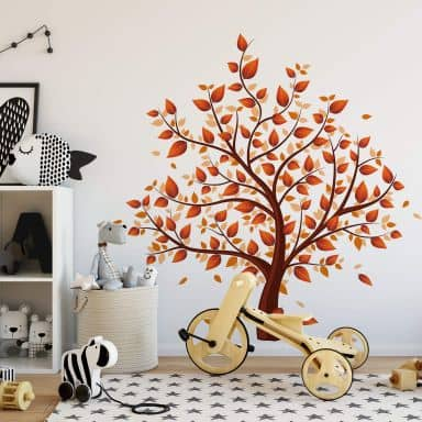 Spring Leaves Wall Sticker
